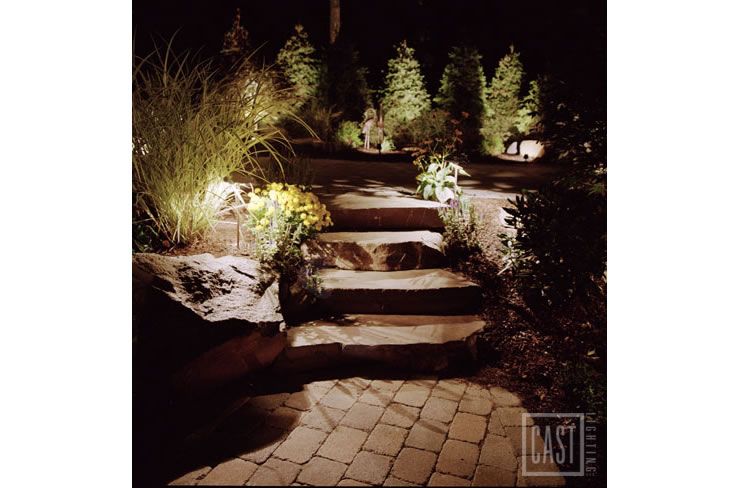 Stone Step Lighting